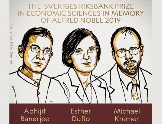 Prix Nobel d'économie 2019